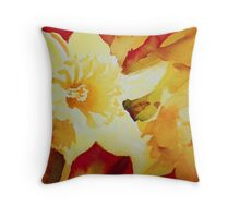 Sunshine on Earth Throw Pillow