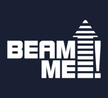Beam me up 1 (white) Kids Clothes