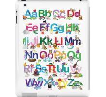 Alphabet for kids iPad Case/Skin