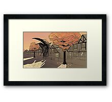 Empty Streets Framed Print