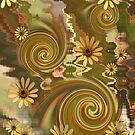 Mellow Yellow Daisys by Leonie Mac Lean