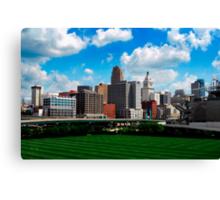 Cincinnati Skyline 7 Canvas Print
