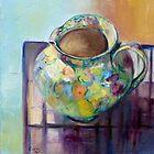 Floral Jug by Barbara Gray