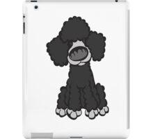 Toy Poodle (Black) iPad Case/Skin