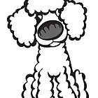 Toy Poodle (White) by Angry Squirrel Studio