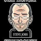 steve jobs stay hungry stay foolish by benyuenkk