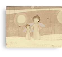 pair of angels Canvas Print