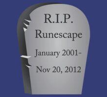 R.I.P. Runescape by zachattacker
