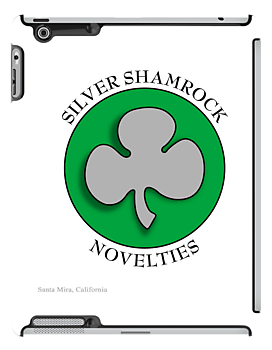 Silver Shamrock ipad_Cover by ANDIBLAIR