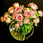 Roses In A Bowl by Mick Kupresanin