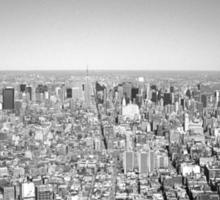 New York Skyline 3 Sticker