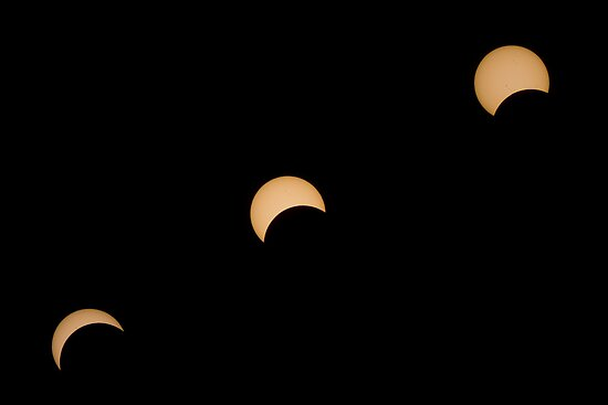 Partial Solar Eclipse by Shelley Warbrooke