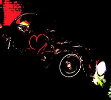 Instead of Scrapyard Heaven ~ 'Time' ~ black and red by redhairdangeros