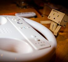 Danbo plays Wii by Aaron Corr