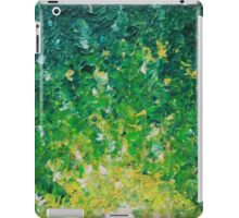 LAKE GRASS - Original Acrylic Abstract Painting Lake Seaweed Hunter Forest Kelly Green Water Lovely iPad Case/Skin