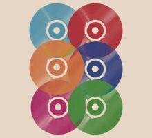 Vinyl Colors - Record Colours Rainbow DJ by HOTDJGEAR