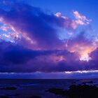 West coast sunset Tasmania by spyke