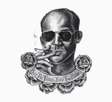 "Hunter S Thompson - ""Buy the ticket, take the ride"" by Illustrationetc"