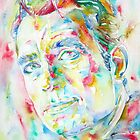 JACK KEROUAC watercolor portrait by lautir