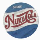 Nuka Cola - Gaming Luggage Labels Series  by A.J.  Hateley