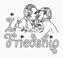 I LOVE FRIENDSHIP T-shirt by ethnographics