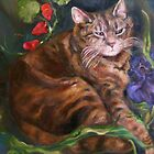 The Cat Who Loved Flowers by Barbara Sparhawk