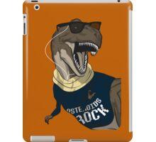 Hipstereosaurus Rex (Version 2) iPad Case/Skin
