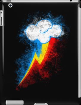 Rainbow Dash Splatter by RainbowCarnagex