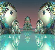 M3D: Matryoshki (Матрешки) Doll Faceoff on Mirror Lake  (G0971) by barrowda