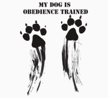 Dog is obedience trained by TheWorkingDog