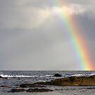 Least Expected rainbow Mayne Island  by TerrillWelch