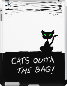 Cat's Outta the Bag!  by Lauren Eldridge-Murray