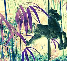 Magical Ride Through a Bamboo Forest by AuntDot