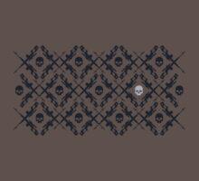 Barrett Rifle & Skull Tessellation (Larger Version) by Ashton Bancroft
