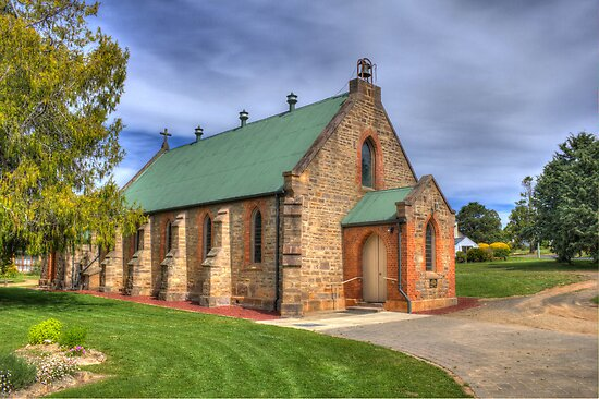 St. Matthias' Anglican Church Bombala NSW  no 1 by Kym Bradley