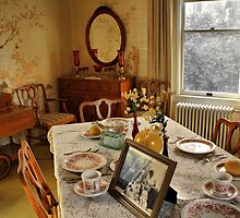 Breakfast Room by Barbara  Brown