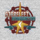 Starfleet Headquarters - Full Front by Jeffery Wright