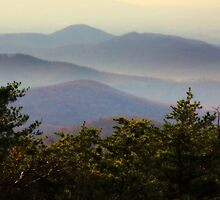 Appalachian Mountain Vista by NatureGreeting Cards ©ccwri