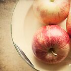 Three Red Apples by Pamela Holdsworth