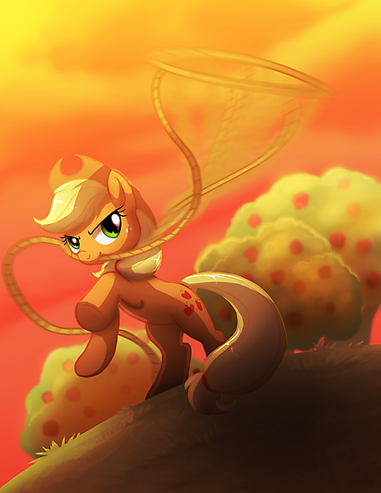 Applejack's Lasso by AylaStarDragon