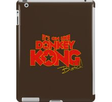 It's on! -text only- iPad Case/Skin