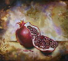 Pomegranate by Michelle Gerber