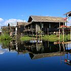 Inle Lake Reflections - Burma by TravelShots