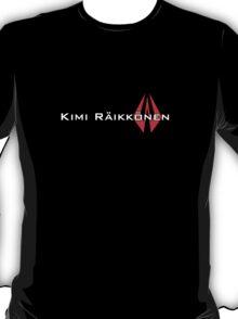 Kimi Raikkonen (Helmet Colours) T-Shirt