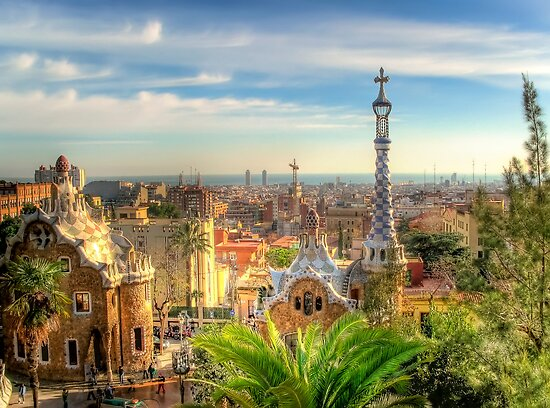 &quot;Parc Guell&quot; (Barcelona) by Paul Ryan