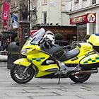 Ambulance Motorbike by Sue Robinson