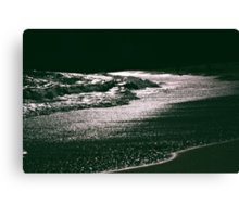 Silver Seas Canvas Print