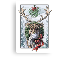 Mistletoe Messenger Canvas Print