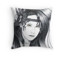 Amazon Warrior (full version) Throw Pillow