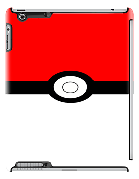 Pokemon Pokeball iPad Case by s0ph13c